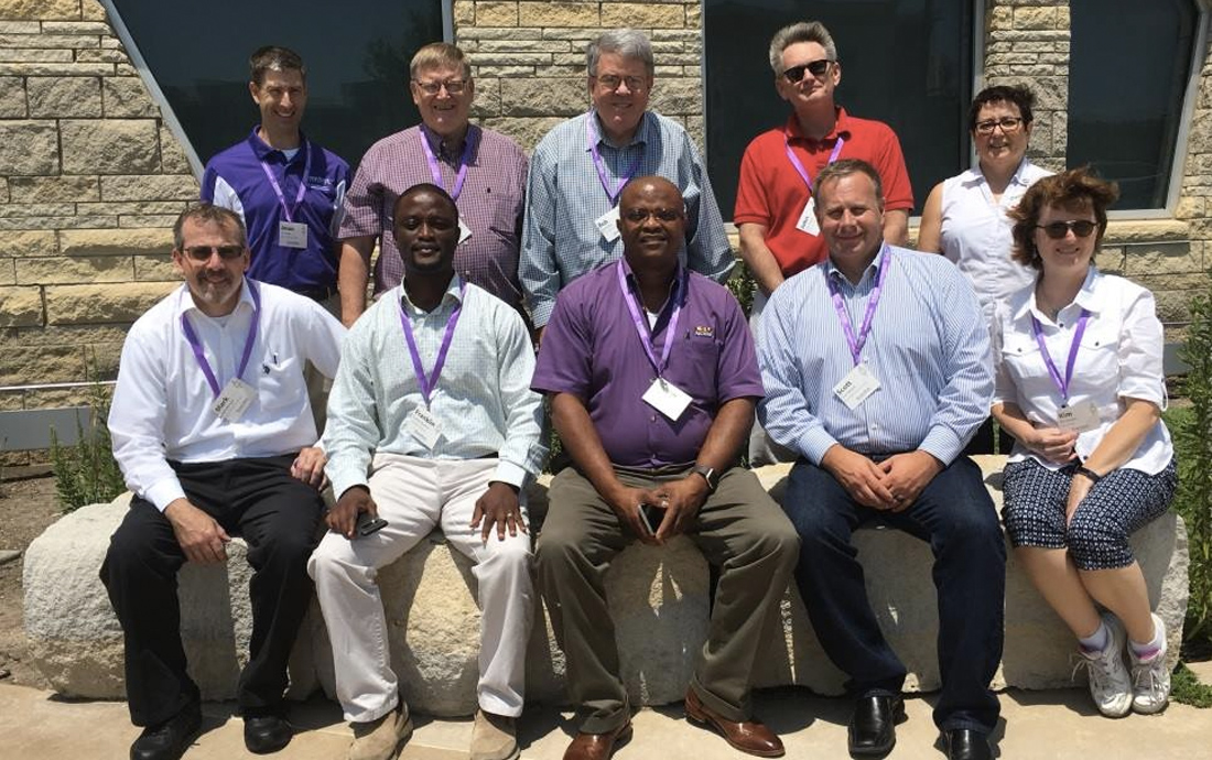 2018 Conclave Delegates and International Officers at the Kansas State University.